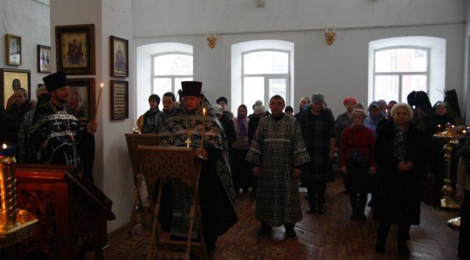 Утреня с чтением Великого канона Андрея Критского