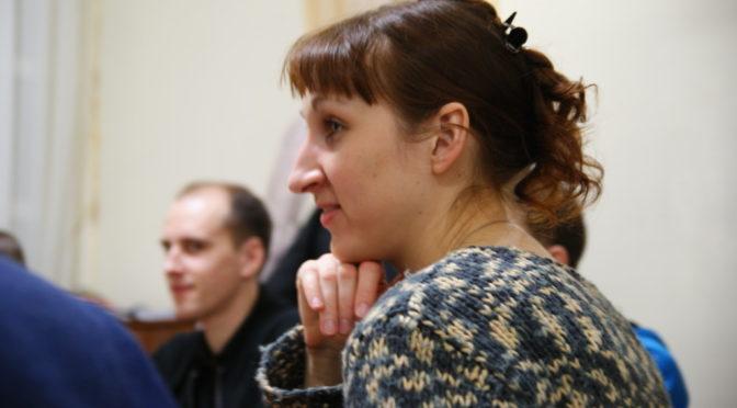 В клубе «Ладья» обсудили тему акафиста в жизни Церкви