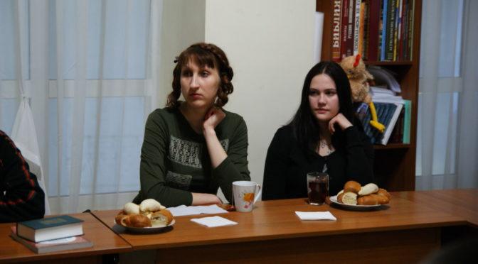 Ребята из клуба «Ладья» узнали о богослужениях Страстной седмицы
