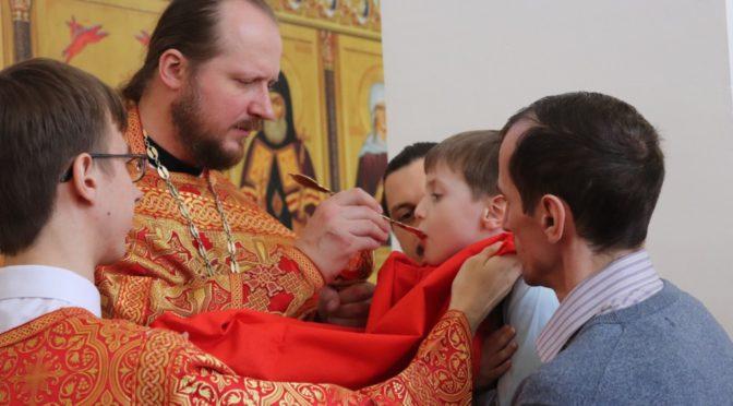 Божественная литургия в Неделю апостола Фомы