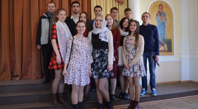 Клуб «Ладья» посетил встречу Митрополита Лонгина с православной молодежью Саратова