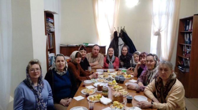 Пасхальная встреча в кружке церковнославянского языка