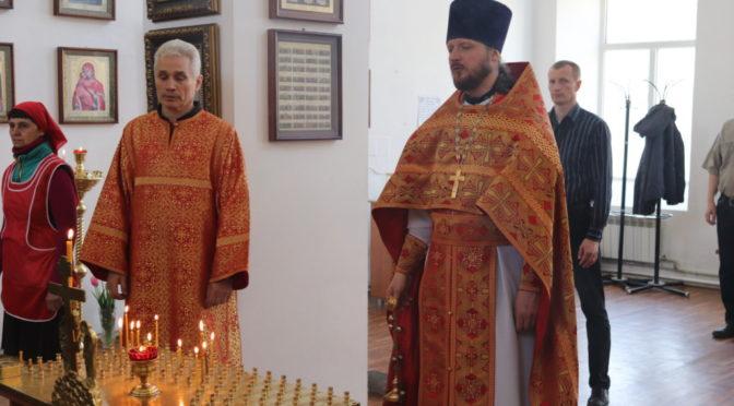 Совершено поминовение жертв трагедии в Кемерово