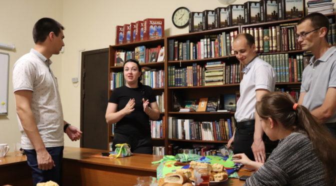 В клубе «Ладья» узнали о тактильных книгах
