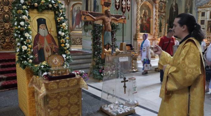 Молебен у мощей святителя Луки (Войно-Ясенецкого), архиепископа Крымского