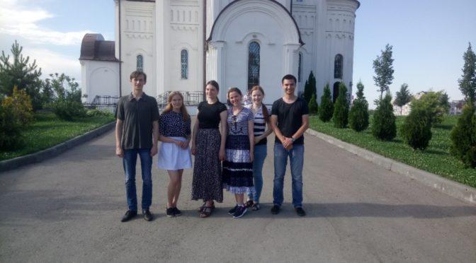 Клуб «Ладья» принял участие в подготовке трапезы к прибытию участников крестного хода