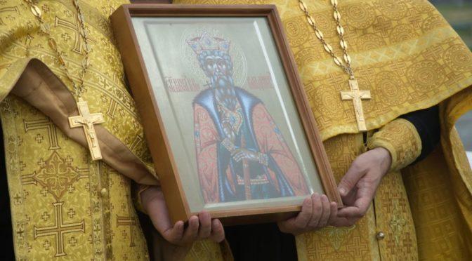 Особое молебное пение в день празднования Крещения Руси