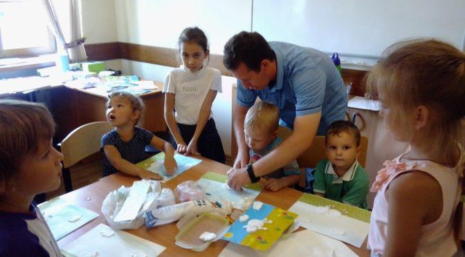 Участники «Ладьи» побывали в качестве волонтеров на семинаре, посвященном семейному образованию