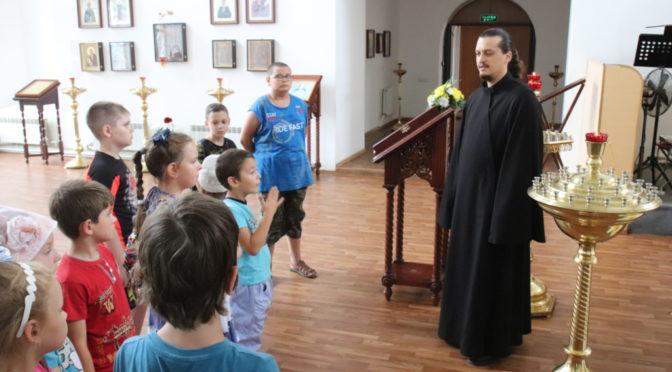 Экскурсия для ребят из Воскресной школы Покровского храма