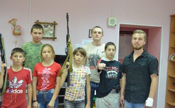 Участники молодежных объединений «Ладья» и «Ковчег» провели патриотические уроки