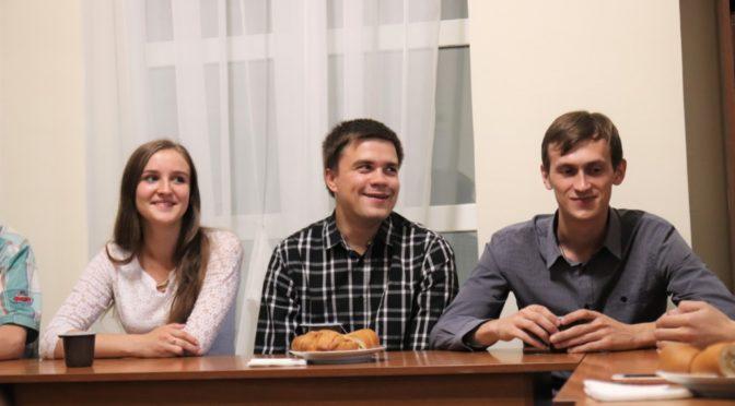 Возобновились встречи в молодежном клубе «Ладья»
