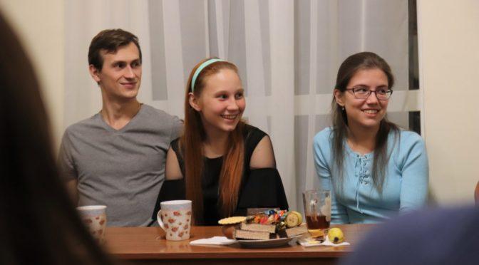 Традиционная встреча в клубе «Ладья»