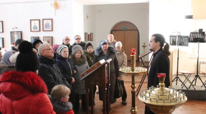 В нашем храме прошли экскурсии