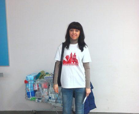 Активистка клуба «Ладья»приняла участие в благотворительной акции