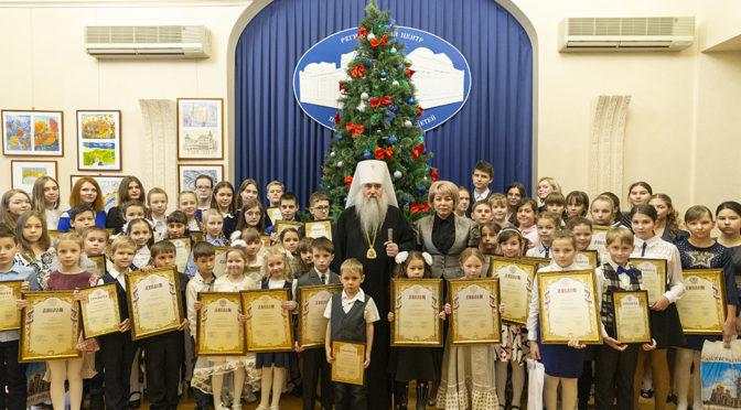 Воспитанник Воскресной школы храма стал победителем регионального этапа конкурса «Красота Божьего мира»