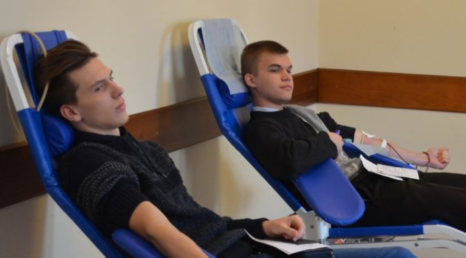 Активисты «Ладьи» приняли участие в донорской акции