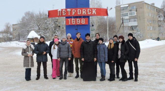 Активисты клубов «Ладья» и «Надежда» приняли участие в рождественском квесте в Петровске