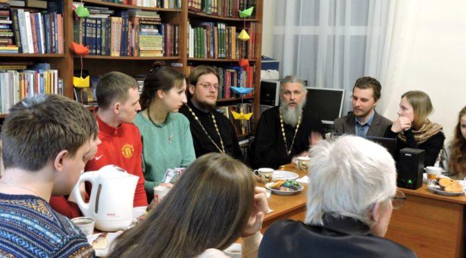 В «Ладье» прошла встреча, посвященная истории русского монашества на Афоне