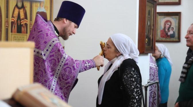 Неделя 5-ая Великого поста, преподобной Марии Египетской