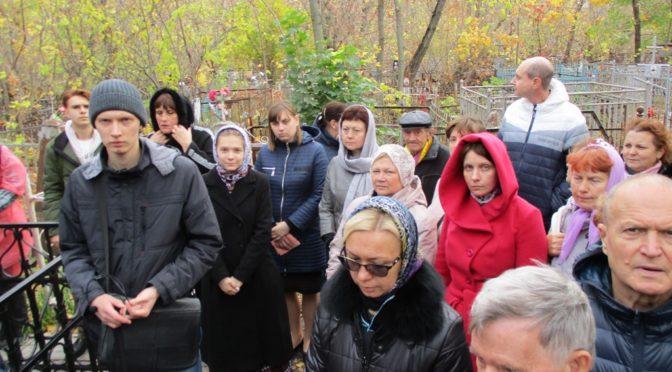 Прихожане нашего храма побывали на экскурсии на Воскресенском кладбище