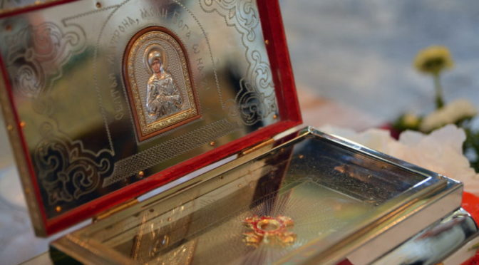 В Саратов будут принесены мощи блаженной Матроны Московской