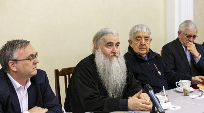 В Татьянин день активисты «Ладьи» побывали на встрече с Митрополитом Лонгином