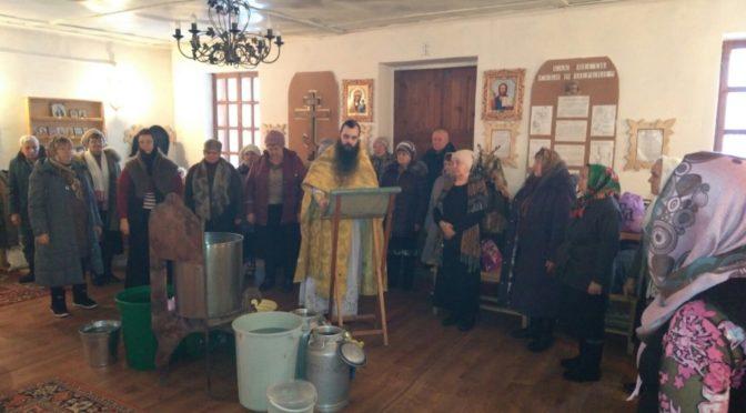 Клирик нашего храма совершил богослужения на приписных приходах