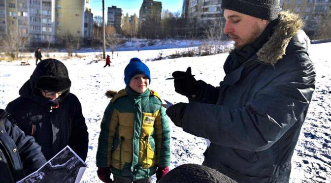 Активисты молодежного общества «Ладья» помогли в организации игры среди воспитанников воскресных школ