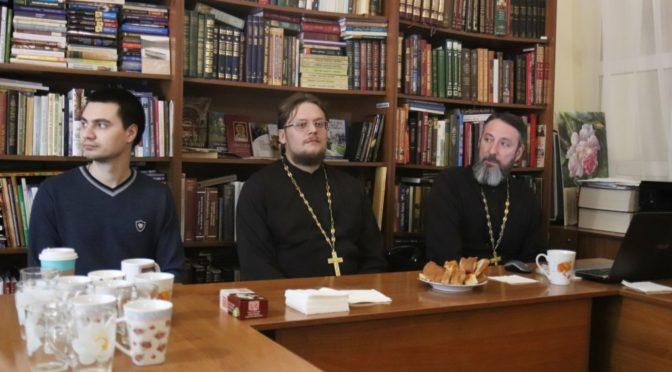 В «Ладье» прошла лекция по истории Русской Православной Церкви в ХХ веке