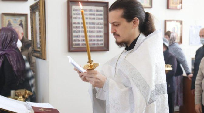 Клирик храма отмечает День рождения