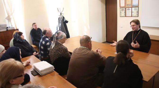 В храме состоялось Приходское собрание