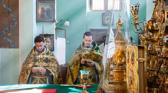 Клирик храма удостоен награды