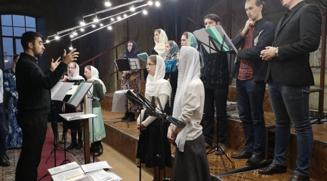 Активисты «Ладьи» приняли участие в молодежной Литургии