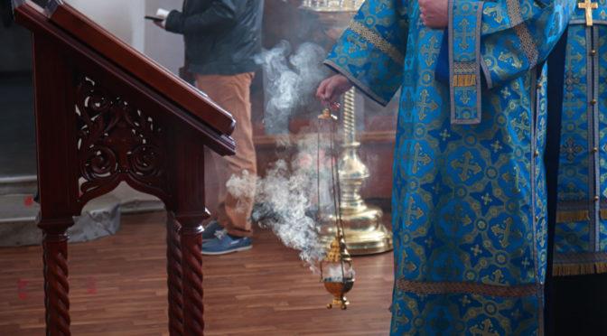 В храме совершена заупокойная лития в память о жертвах радиоактивных аварий и катастроф