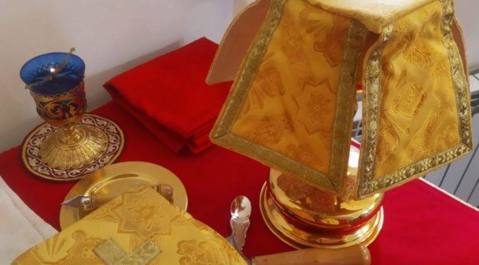 Клирик храма совершил праздничные богослужения на приписном приходе
