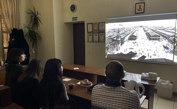 В «Ладье» посмотрели фильм о Нижнем Новгороде