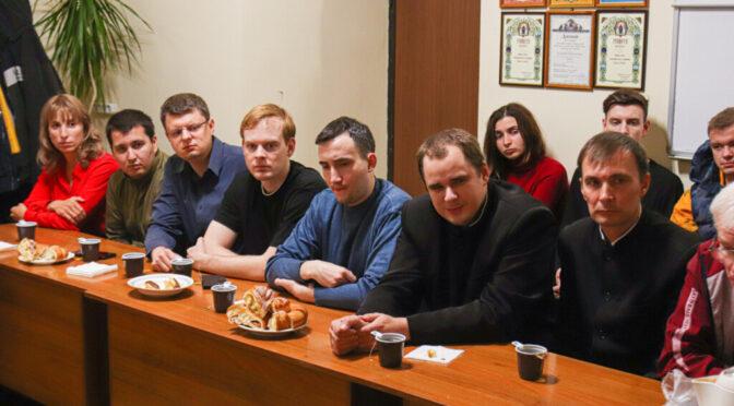 В «Ладье» прошла встреча, посвященная русскому монашеству